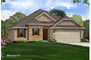 Evergreen - Inverness Estates: Tomball, TX - Gehan Homes