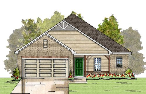 Savannah Cove by Energy Smart New Homes, LLC in Birmingham Alabama