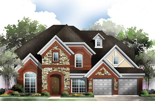 Grand Peninsula by Grand Homes in Dallas Texas