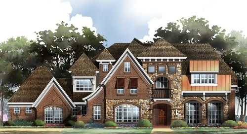 King's Crossing by Grand Homes in Dallas Texas