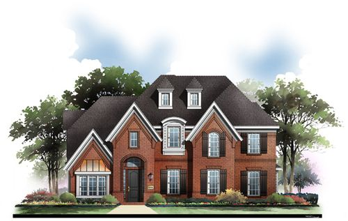 Kensington Gardens by Grand Homes in Dallas Texas