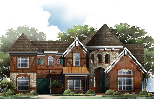Waterford Park by Grand Homes in Fort Worth Texas
