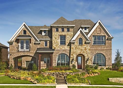 Bower Ranch by Grand Homes in Dallas Texas