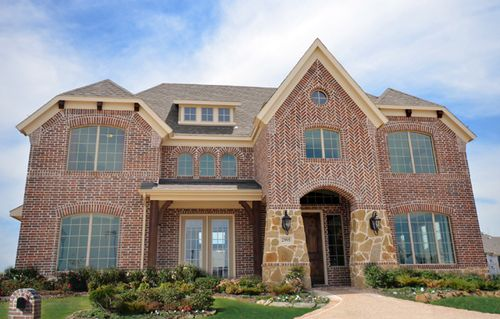 Dominion at Panther Creek by Grand Homes in Dallas Texas