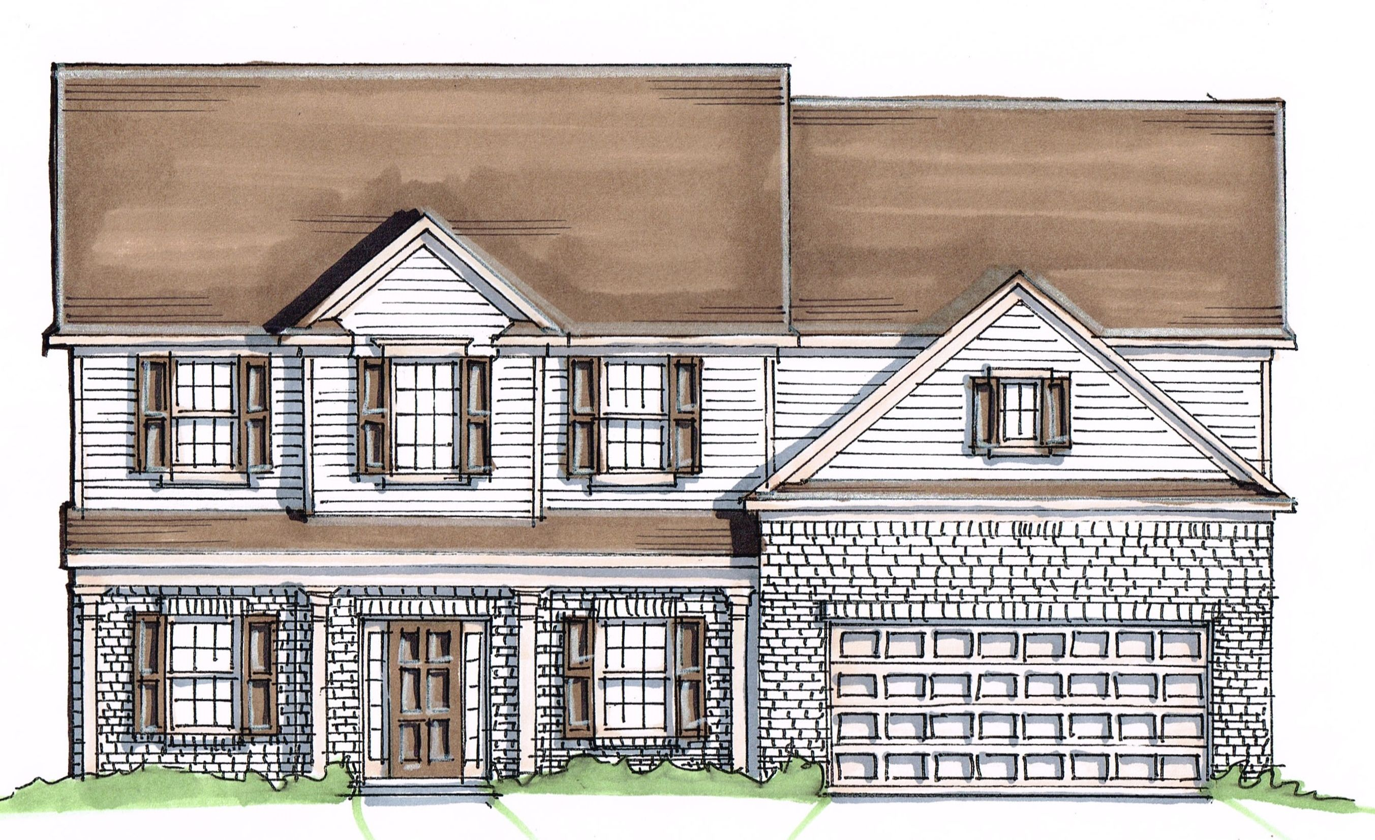 Single Family for Active at Sable Oaks - Laurel – Georgia 10230 Sable Court Midland, Georgia 31820 United States