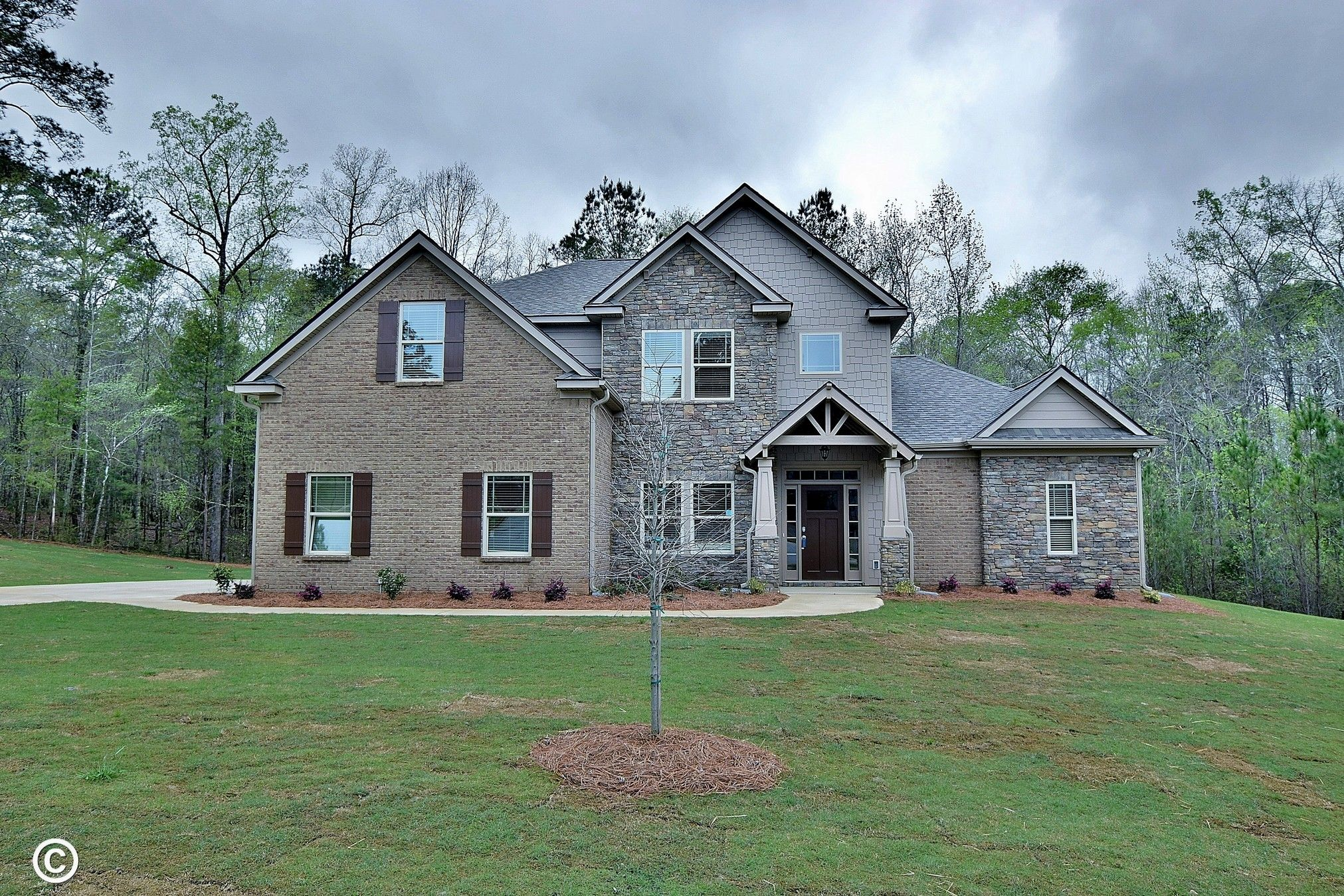 Single Family for Active at Sable Oaks - Aspen - Georgia 10230 Sable Court Midland, Georgia 31820 United States
