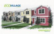 homes in EcoVillage Dunedin by Greenergy Communities