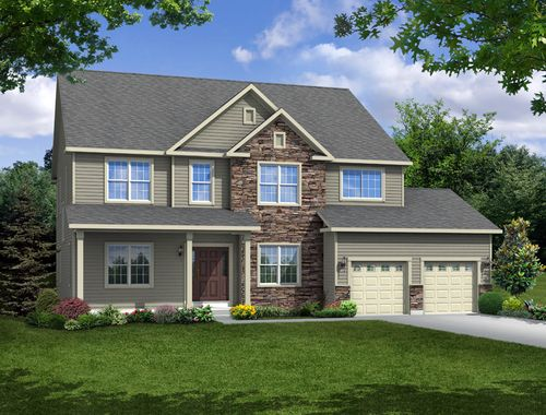 Fox River View by Halen Homes in Milwaukee-Waukesha Wisconsin