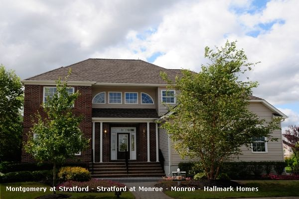 The Montgomery - Stratford At Monroe: Monroe, NJ - Hallmark Homes