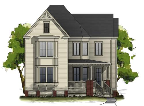 The Waters by Harris Doyle Homes Inc in Montgomery Alabama