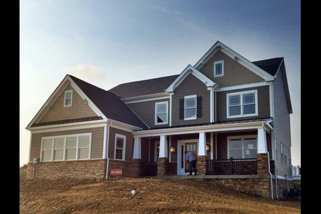 Summerbrooke in canonsburg pa new homes floor plans by for Heartland homes pittsburgh floor plans