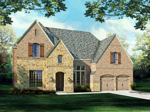 Lawler Park 75s by Highland Homes in Dallas Texas