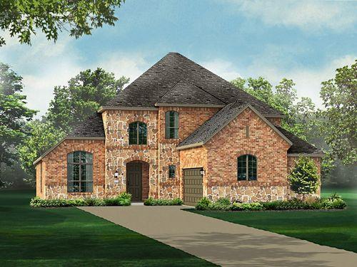 Wynn Ridge Estates 60s by Highland Homes in Dallas Texas