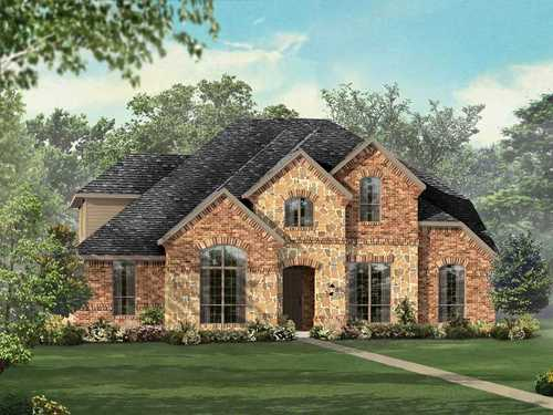 Woodbridge North 60-70 by Highland Homes in Dallas Texas