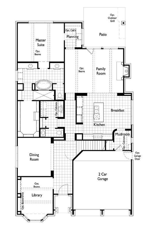 Las Colinas 55s by Huntington Homes in Dallas Texas