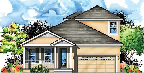 MiraBay Lagoon Cove by Homes by WestBay in Tampa-St. Petersburg Florida