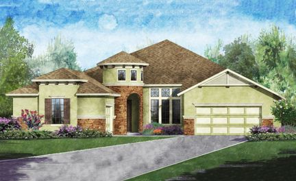 Avilla In Kissimmee Fl New Homes Amp Floor Plans By Ici Homes