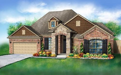Valencia by Ideal Homes in Oklahoma City Oklahoma