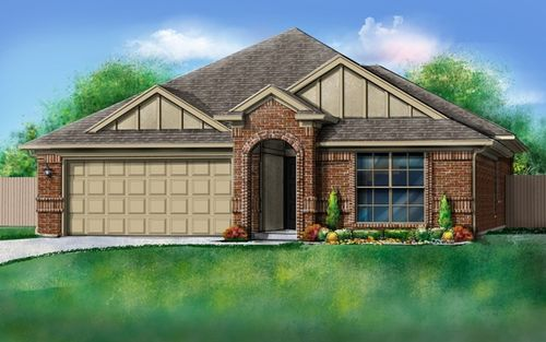Springs at Settlers Ridge by Ideal Homes in Oklahoma City Oklahoma