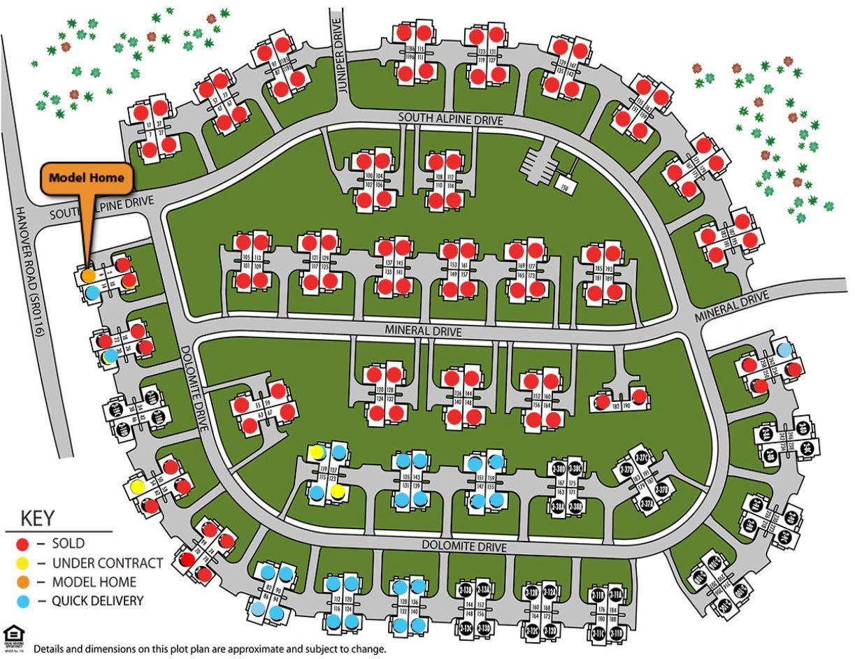 Single Family for Sale at Villas 140 Dolomite Drive York, Pennsylvania 17408 United States