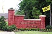 homes in Alexander's Crossing by Johnny Coleman Builders