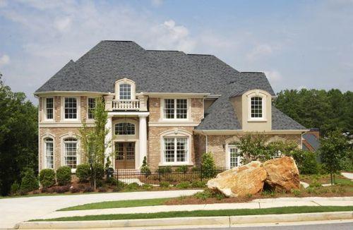 Barrington Trace by Jones & Minear Homebuilders in Atlanta Georgia