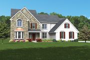The Baldwin - Whispering Pines: Coopersburg, PA - Judd Builders and Developers