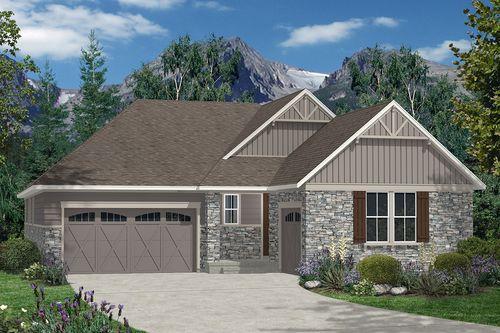 The Estates at Ponderosa Ridge by KB Home in Denver Colorado