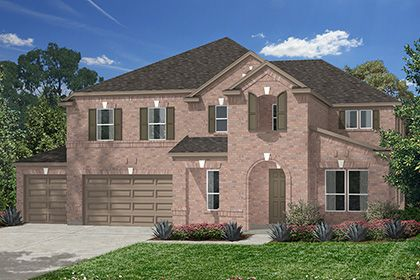 Lakewood Pines Estates - Lakefront by KB Home in Houston Texas