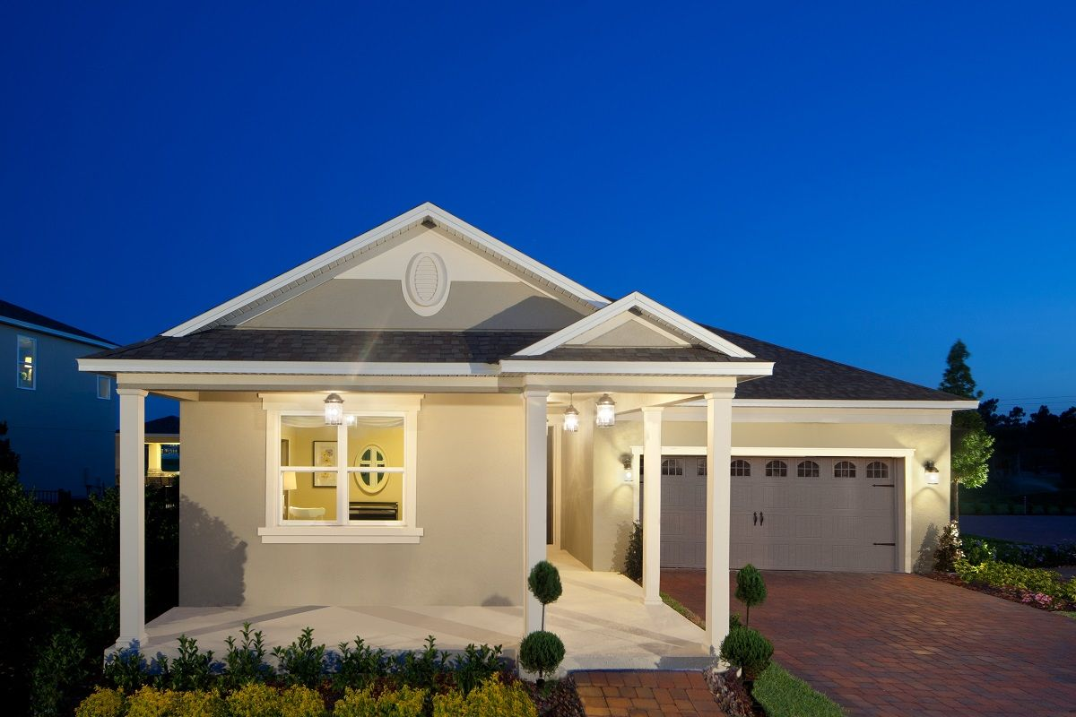 orchard park new homes in winter garden fl by kb home