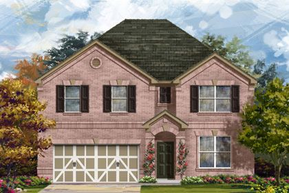 The Oaks at Cobblestone by KB Home in San Antonio Texas