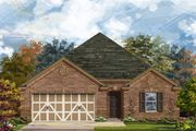 Plan 2004 Modeled - The Oaks at Cobblestone: San Antonio, TX - KB Home
