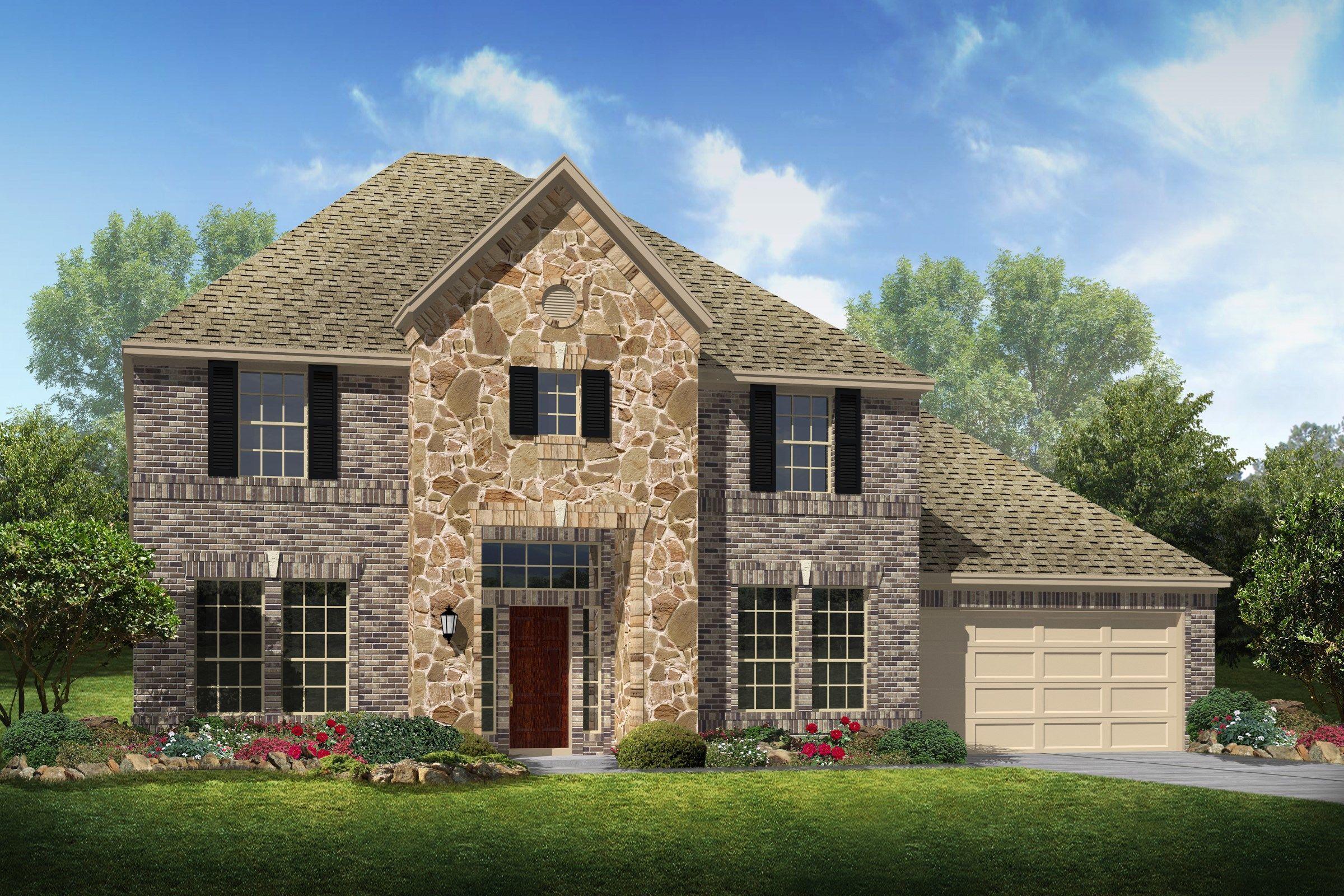 Single Family for Sale at Cottonwood Estates - Amber 4213 Ashley Lane Deer Park, Texas 77536 United States