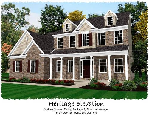 house for sale in The Links at Gettysburg by Keystone Custom Homes, Inc.