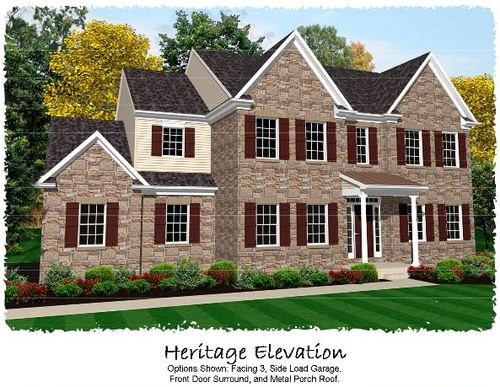 house for sale in Woodbridge Farms by Keystone Custom Homes, Inc.