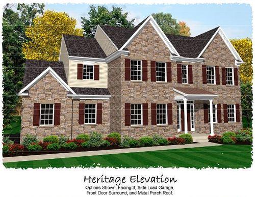 house for sale in Woodbridge Farms by Keystone Custom Homes, Inc.