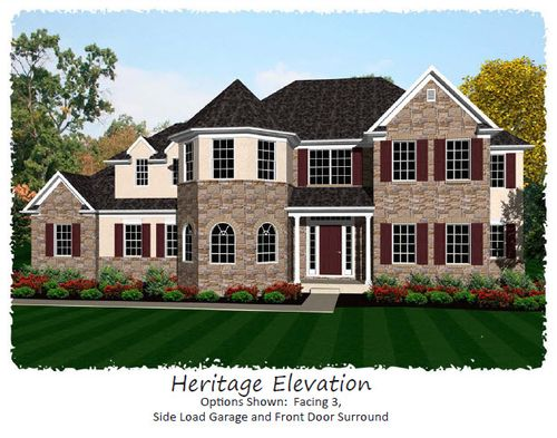 Fox Chase by Keystone Custom Homes, Inc. in Philadelphia Pennsylvania