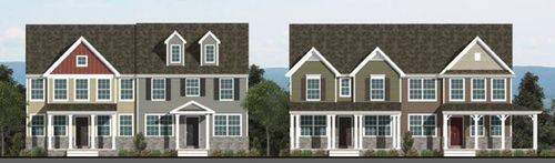 The Townes at Devon Creek by Keystone Custom Homes, Inc. in Lancaster Pennsylvania