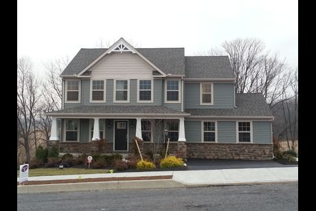 Penn Hills In Bernville Pa New Homes Floor Plans By
