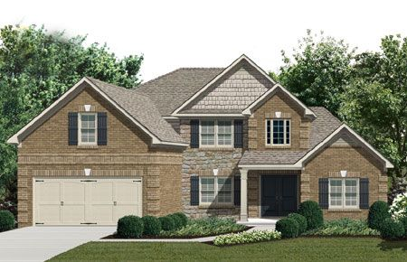 Один семья для того Продажа на Tyler Ridge - The Henry 318 Cambrian Dr Kathleen, Georgia 31047 United States