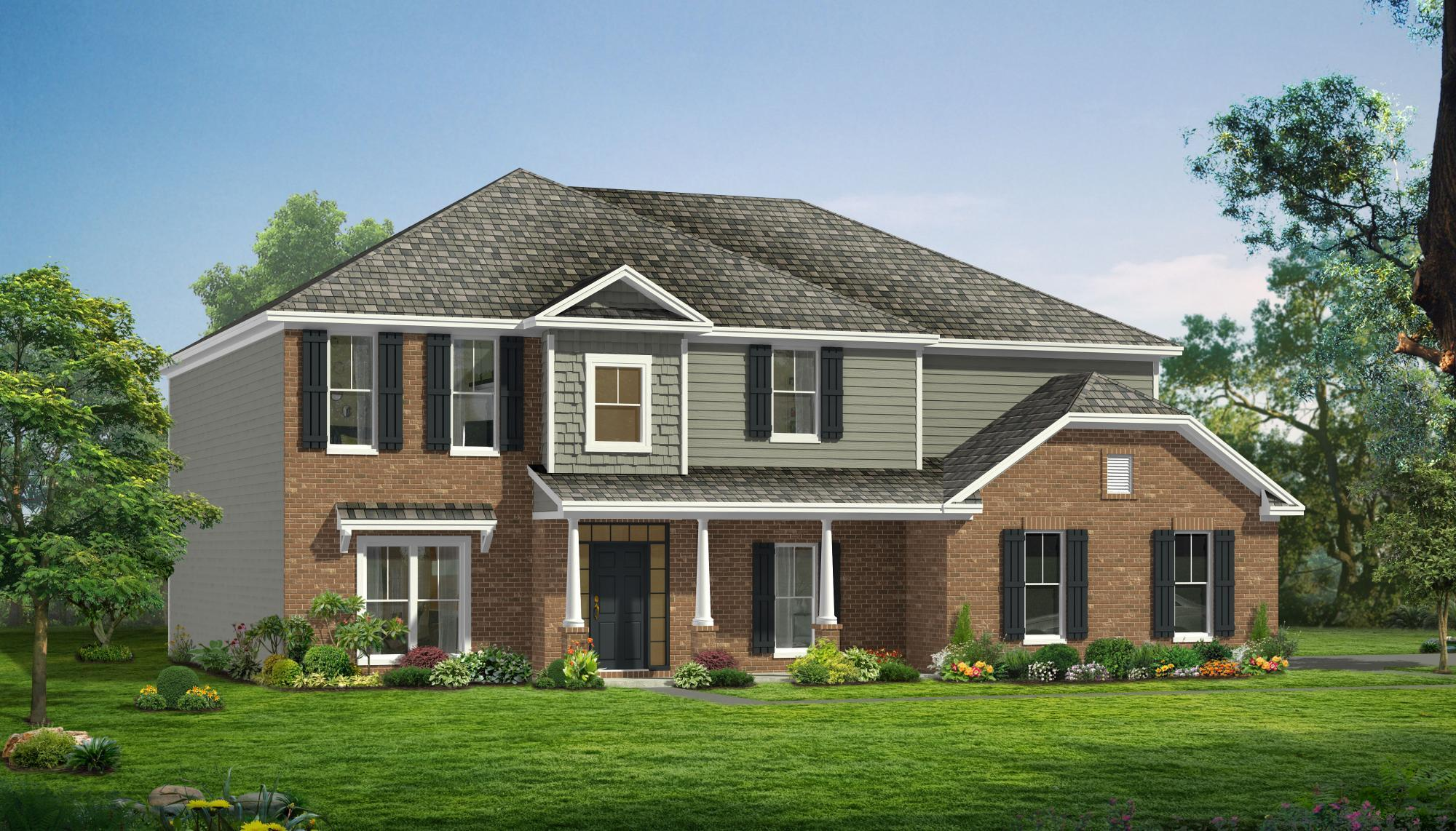 Single Family for Active at Woodland Trail - Montgomery Se 347 Oak Level Road Richmond Hill, Georgia 31324 United States