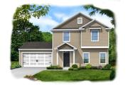 Lanier - Saddle Club at Belmont Glen: Guyton, GA - Konter Quality Homes
