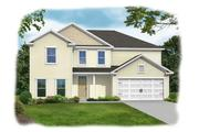 Crawford - Saddle Club at Belmont Glen: Guyton, GA - Konter Quality Homes