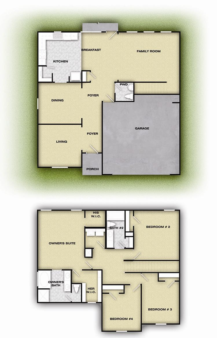 Hartwell Plan At Sutherland In Winder Georgia 30680 By