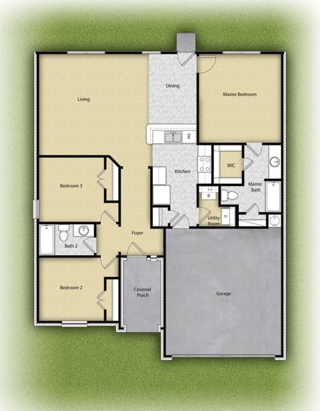 st clair plan at presidential glen in manor 78653