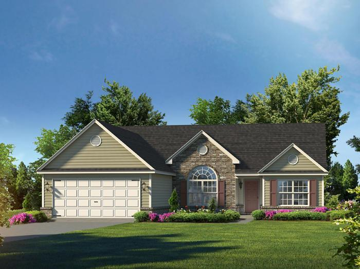The Madison - Covington Pointe: Brunswick, GA - Lamar Smith Signature Homes