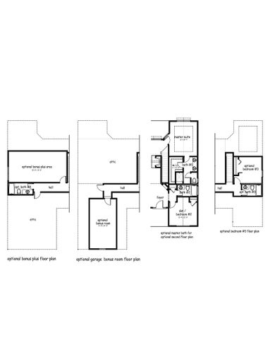 The Dover Floor Plan Options