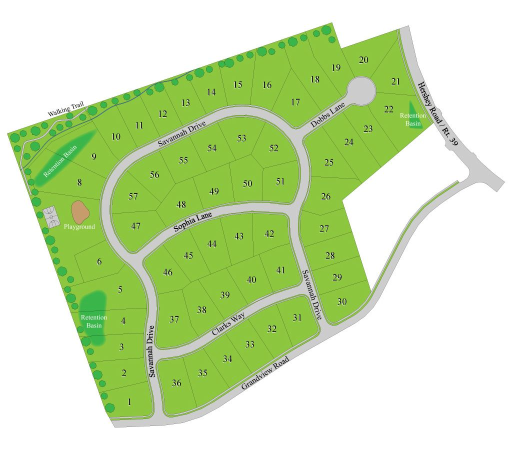 New Homes for Sale in Hummelstown PA