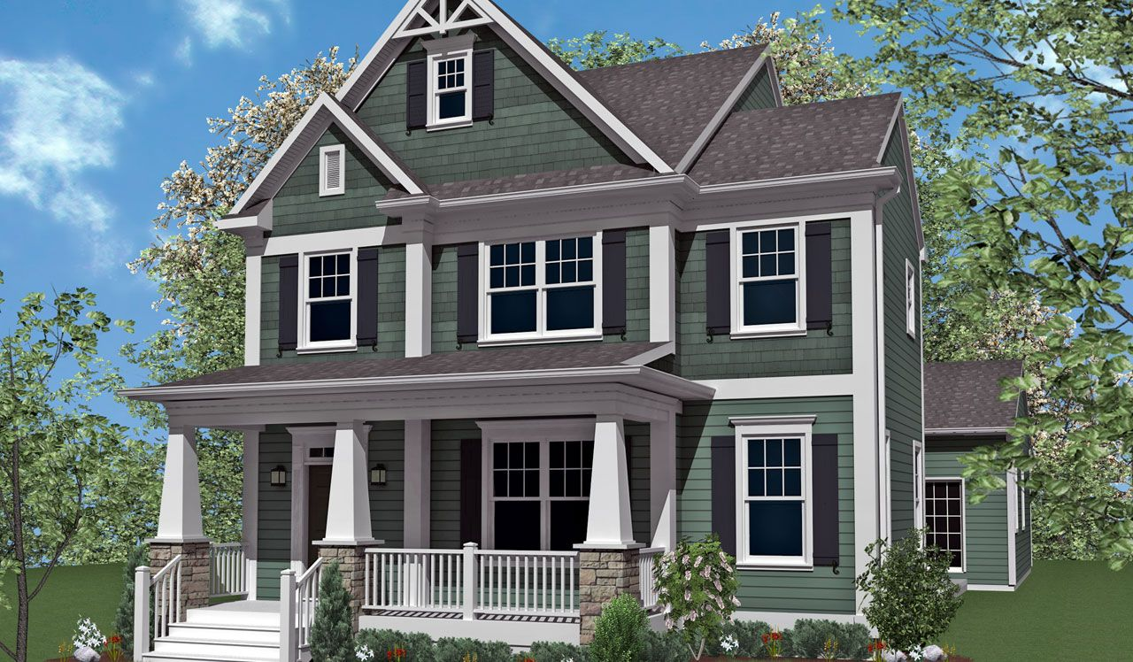 The Mapleton Home Plan By Landmark Homes In Home Towne