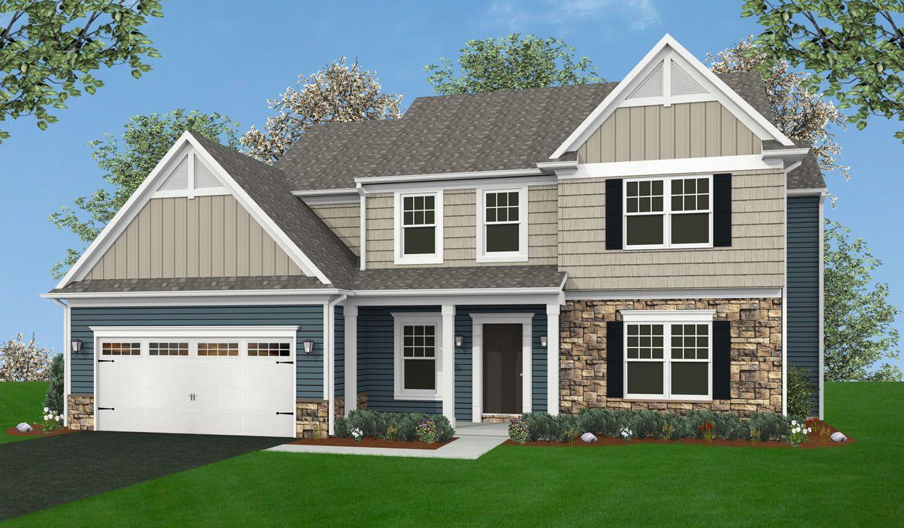 Glenwood Home Plan By Landmark Homes In Hoffman Heights